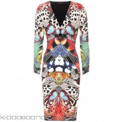 Roberto Cavalli Printed jersey dress - Womens Cocktail Dresses P00301528