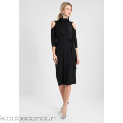 Anna Field Jersey dress - black - Womens Jersey Dresses AN621C0UX-Q11