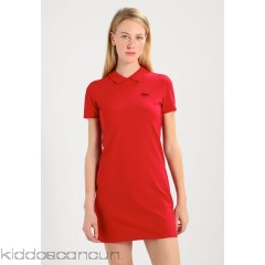 Lacoste LIVE Jersey dress - tokyo red - Womens Jersey Dresses L4721C013-G11