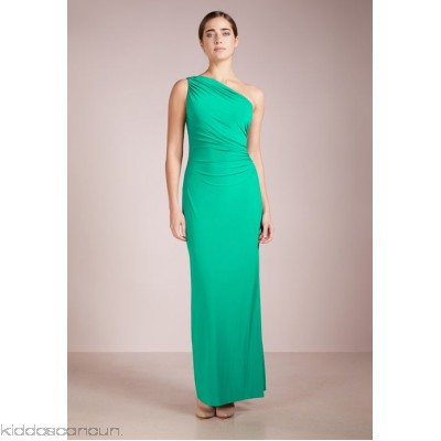 Lauren Ralph Lauren Maxi dress - femme green - Womens Jersey Dresses L4221C071-M11