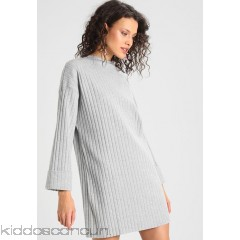 <b>Notice</b>: Undefined index: alt_image in <b>/home/kiddoscancun/public_html/vqmod/vqcache/vq2-catalog_view_theme_cerah_template_product_category.tpl</b> on line <b>73</b>Missguided LONG SLEEVE FOLDED CUFF DRESS - Jumper dress - grey - Womens Knitted Dresses M0Q21C0QP-C11