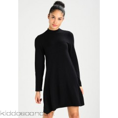 Vero Moda VMKARIS MARIKKA HIGHNECK DRESS - Jumper dress - black - Womens Knitted Dresses VE121C1B7-Q11