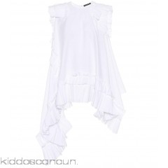 Alexander McQueen Sleeveless cotton-poplin top - Womens Blouses P00302927