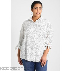 <b>Notice</b>: Undefined index: alt_image in <b>/home/kiddoscancun/public_html/vqmod/vqcache/vq2-catalog_view_theme_cerah_template_product_category.tpl</b> on line <b>73</b>Dorothy Perkins Curve STRAIGHT SLEEVE SPOT - Blouse - black/ivory  - Womens Blouses DP621E066-Q11