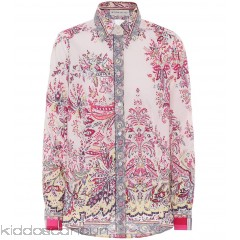 Etro Printed cotton shirt - Womens Blouses P00303088