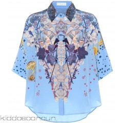 Etro Printed silk shirt - Womens Blouses P00303089