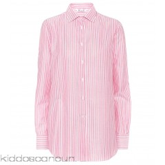 Loro Piana Kara striped cotton shirt - Womens Blouses P00306299