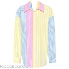 Marni Oversized striped cotton shirt - Womens Blouses P00305344