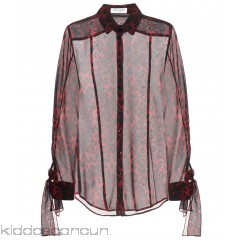 Saint Laurent Silk blouse - Womens Blouses P00300380