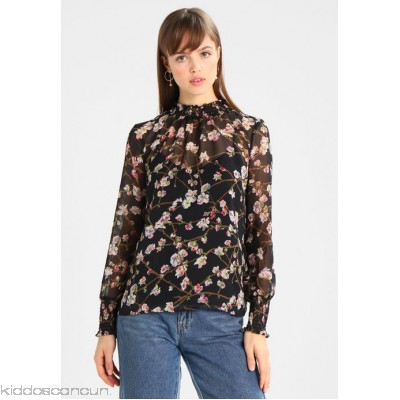 Warehouse SWEET CHERRY PRINT - Blouse - black - Womens Blouses WA221E05A-Q11