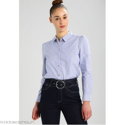 ONLY ONLISA STRIPE - Shirt - white denim / blue - Womens Shirts ON321E10C-K11