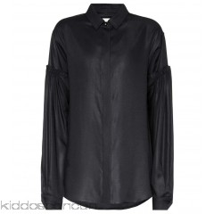 Saint Laurent Drop shoulder twill shirt - Womens Shirts P00263507