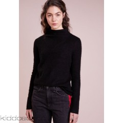 Filippa K MOCK NECK - Jumper - black - Womens Jumpers F1421I02N-Q11