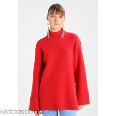 Finery London EPPING HIGH NECK  - Jumper - cherry red - Womens Jumpers FIC21I00F-K11