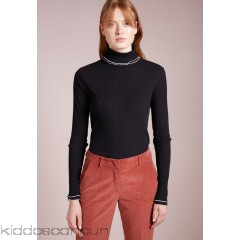 J.CREW TURTLENECK WITH CONTRASTING TRIM - Jumper - black - Womens Jumpers JC421I01I-Q11