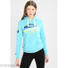 <b>Notice</b>: Undefined index: alt_image in <b>/home/kiddoscancun/public_html/vqmod/vqcache/vq2-catalog_view_theme_cerah_template_product_category.tpl</b> on line <b>73</b>Superdry VINTAGE LOGO SPLICE ENTRY HOOD - Hoodie - aquamarine snowy - Womens Sweatshirts SU221J0QO-K11