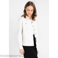 Glamorous Petite JACKET - Denim jacket - white denim - Womens Denim Jackets GLB21G00A-K11