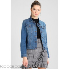 Pieces PCLISA JACKET  - Denim jacket - medium blue denim - Womens Denim Jackets PE321G00V-K11