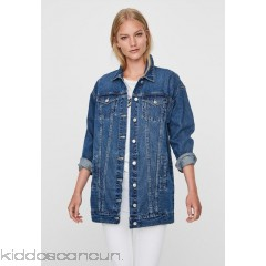 Vero Moda Denim jacket - medium blue denim - Womens Denim Jackets VE121G0JX-K11