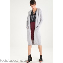 Vila VIRIL LONG CARDIGAN - Cardigan - light grey melange - Womens Cardigans V1021I0KG-C11