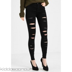 Even&Odd Jeans Skinny Fit - black denim - Womens Skinny Jeans EV421N013-Q11