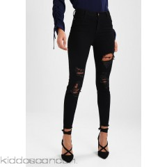 Even&Odd Jeans Skinny Fit - black denim - Womens Skinny Jeans EV421N016-Q11