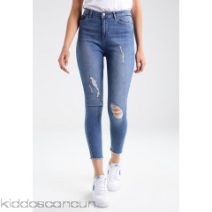 Even&Odd Jeans Skinny Fit - blue denim - Womens Skinny Jeans EV421NA28-K11
