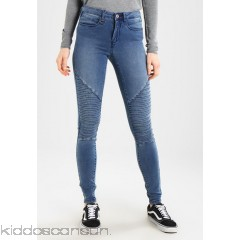 ONLY ONLROYAL SKINNY BIKER  - Jeans Skinny Fit - medium blue denim - Womens Skinny Jeans ON321N0OA-K11