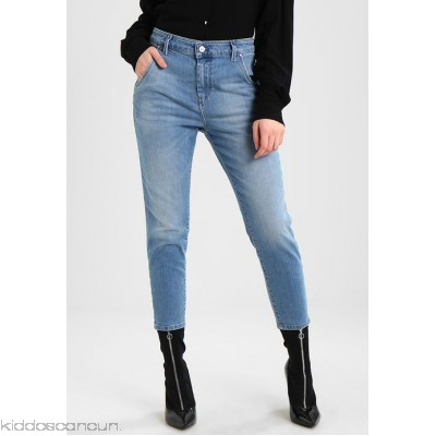 Diesel FAYZA EVO - Relaxed fit jeans - indigo - Womens Loose Fit Jeans DI121N054-K15