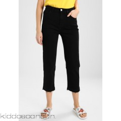 Haikure BRUXELLES - Relaxed fit jeans - comfort kelly black denim stone wash - Womens Loose Fit Jeans HAH21N005-Q11