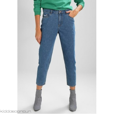 ONLY ONLTONNI BOYFRIEND - Relaxed fit jeans - medium blue denim - Womens Loose Fit Jeans ON321N0OH-K11