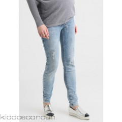 LOVE2WAIT SOPHIA DESTROYED SUPERSTRETCH - Slim fit jeans - light wash - Womens Slim Fit Jeans LW229A018-K11