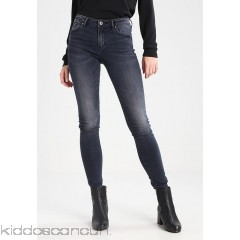 ONLY ONLCARMEN  - Slim fit jeans - dark blue  - Womens Slim Fit Jeans ON321N0LL-K11