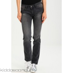 Mavi OLIVIA - grey denim - Womens Straight Leg Jeans MA621N03I-C11