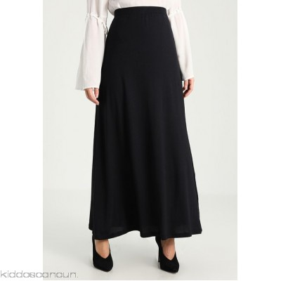 Zalando Essentials Petite Maxi skirt - black - Womens Maxi Skirts ZAD21B000-Q11