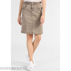 <b>Notice</b>: Undefined index: alt_image in <b>/home/kiddoscancun/public_html/vqmod/vqcache/vq2-catalog_view_theme_cerah_template_product_category.tpl</b> on line <b>73</b>Cream MILA SKIRT - Pencil skirt - khaki sand  - Womens Denim Skirts CR221B01S-B11