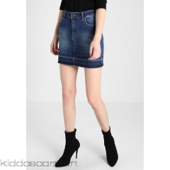 Even&Odd Denim skirt - blue denim - Womens Denim Skirts EV421BA2M-K11