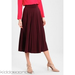 Anna Field A-line skirt - red - Womens Pleated Skirts AN621BA1L-G13