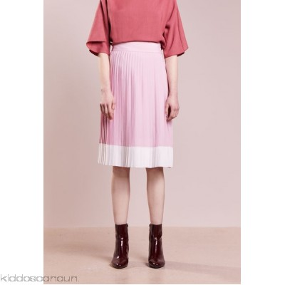 Jil Sander Navy A-line skirt - rose - Womens Pleated Skirts JS021B00D-J11