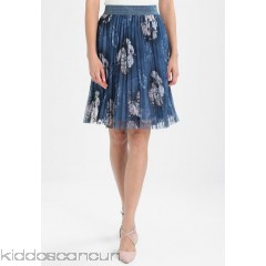 Kaffe BLOOMI - A-line skirt - blau - Womens Pleated Skirts KA321B02E-K11