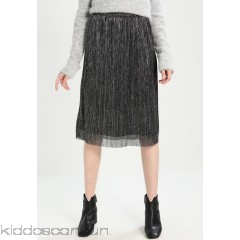 Kaffe JOSEFA - A-line skirt - silver - Womens Pleated Skirts KA321B022-D11