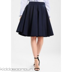 mint&berry A-line skirt - dark blue - Womens Pleated Skirts M3221BA4G-K13