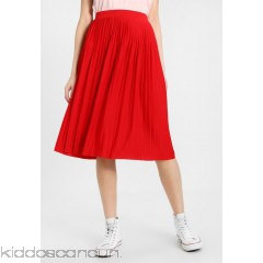OVS A-line skirt - tomato red - Womens Pleated Skirts OV021B00J-M11