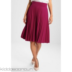 Anna Field A-line skirt - dark red - Womens A-Line Skirts AN621BA0N-G12