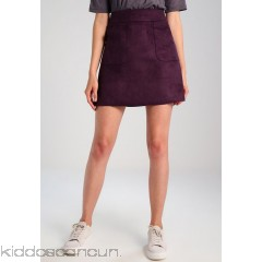 mint&berry A-line skirt - plum perfect - Womens A-Line Skirts M3221BA56-I11