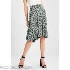 mint&berry A-line skirt - white/green - Womens A-Line Skirts M3221B05B-A11