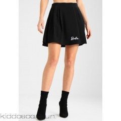 Missguided BARBIE PLEATED SKIRT - A-line skirt - black - Womens A-Line Skirts M0Q21B050-Q11