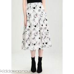 Sister Jane FULL HOUSE MIDI SKIRT - A-line skirt - white - Womens A-Line Skirts QS021B00E-A11