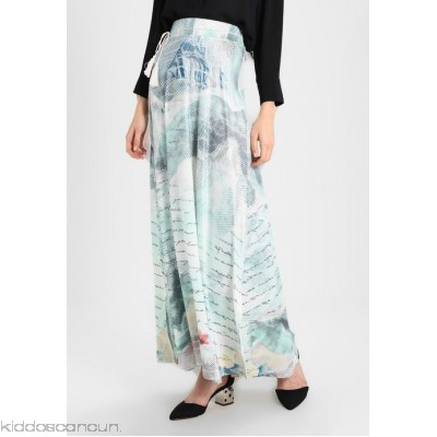 Smash TRIBU - A-line skirt - light blue - Womens A-Line Skirts SM421B01H-K11