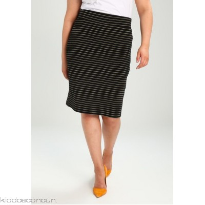Anna Field Curvy Pencil skirt - black - Womens Pencil Skirts AX821B001-F11